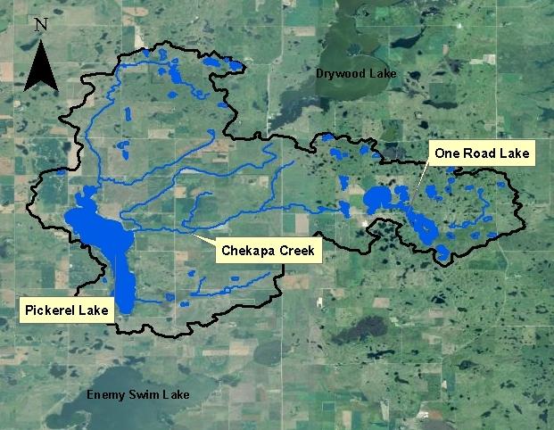 Northeast South Dakota Glacial Lakes Watershed  Pickerel Lake